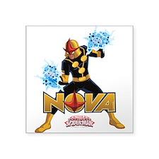"Nova Design 4 Square Sticker 3"" x 3"""