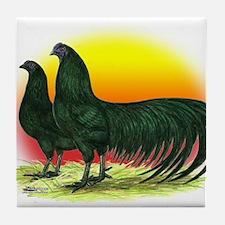 Sumatra Game Fowl Tile Coaster