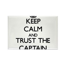 Keep Calm and Trust the Captain Magnets