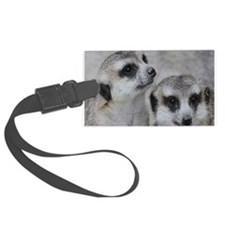 adorable meerkats 02 Luggage Tag