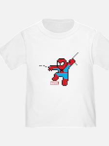 8 Bit Spiderman T