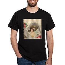 Huge Hat Edwardian Flapper T-Shirt