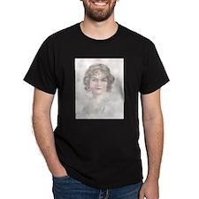 Soft Pink Romantic Flapper T-Shirt
