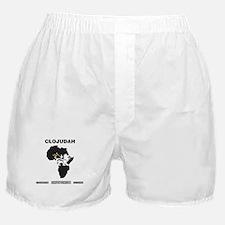 CLOJudah Lion of Judah Africa Boxer Shorts