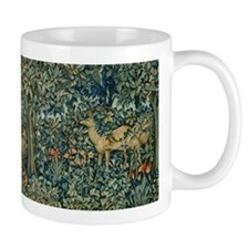 William Morris Greenery Mugs