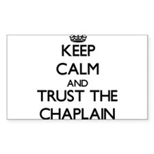Keep Calm and Trust the Chaplain Decal