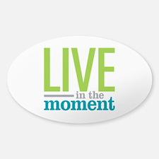 Live Moment Sticker (Oval)
