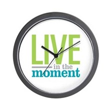Live Moment Wall Clock