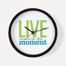 Live Moment Wall Clock