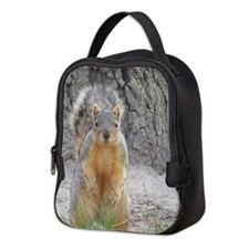 Squirrel Neoprene Lunch Bag