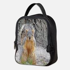 Squirrel Neoprene Lunch Bag