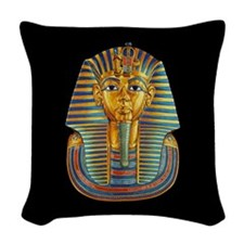 King Tut Woven Throw Pillow