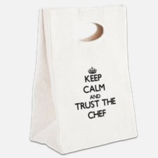 Keep Calm and Trust the Chef Canvas Lunch Tote