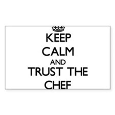 Keep Calm and Trust the Chef Decal