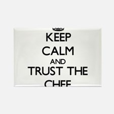 Keep Calm and Trust the Chef Magnets
