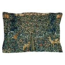 William Morris Greenery Pillow Case