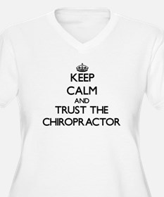 Keep Calm and Trust the Chiropractor Plus Size T-S