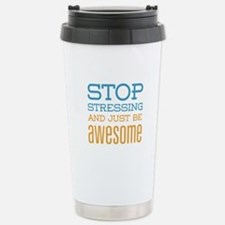 Just Be Awesome Travel Mug