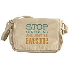 Just Be Awesome Messenger Bag