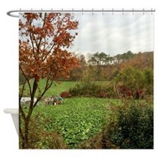 Farmland Scene Shower Curtain