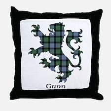 Lion - Gunn Throw Pillow