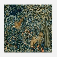 William Morris Greenery Tile Coaster
