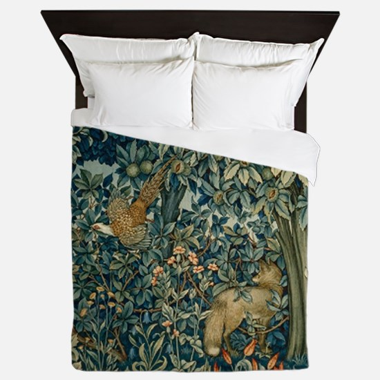 William Morris Greenery Queen Duvet