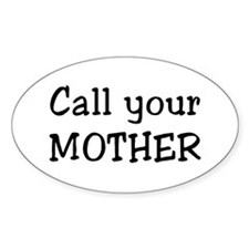 call mother Decal