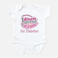 DIABETES Cure Infant Bodysuit