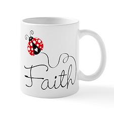 Ladybug Faith Mugs