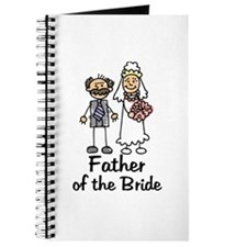 Cartoon Bride's Father Journal