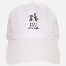 Cartoon Bride's Father Baseball Baseball Cap