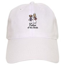 Cartoon Bride's Father Baseball Cap