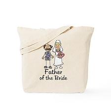 Cartoon Bride's Father Tote Bag