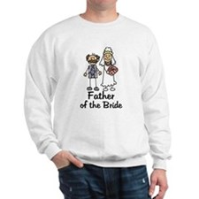 Cartoon Bride's Father Sweatshirt
