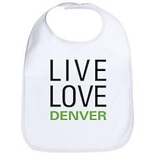 Live Love Denver Bib
