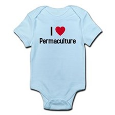 I love permaculture Infant Bodysuit