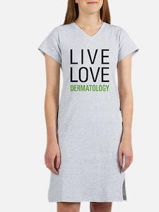 Live Love Dermatology Women's Nightshirt
