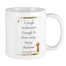 300 sunbeam on st francis Mugs