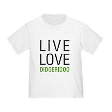 Live Love Didgeridoo T