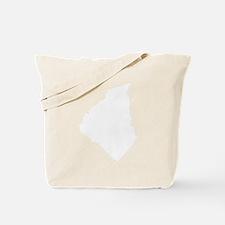 White Oconee Tote Bag