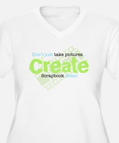 Create - Green T-Shirt