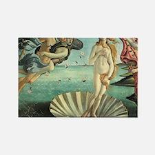 Boticelli The birth of Venus Rectangle Magnet