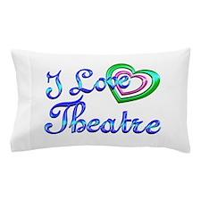 I Love Theatre Pillow Case