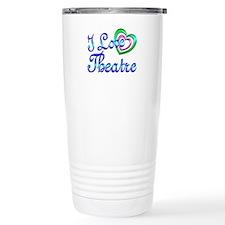 I Love Theatre Travel Mug