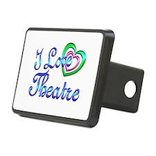 I Love Theatre Hitch Cover