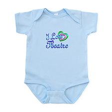 I Love Theatre Infant Bodysuit