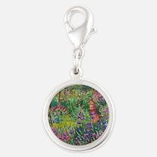 Monet Iris Garden Giverny Charms