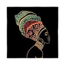 African Woman Queen Duvet