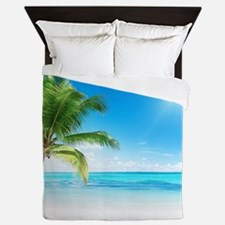 Beautiful Beach Queen Duvet